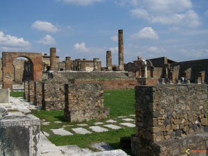 The archaeological site of Pompeii