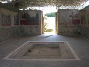 Scavi archeologici di Stabiae, la Villa Arianna